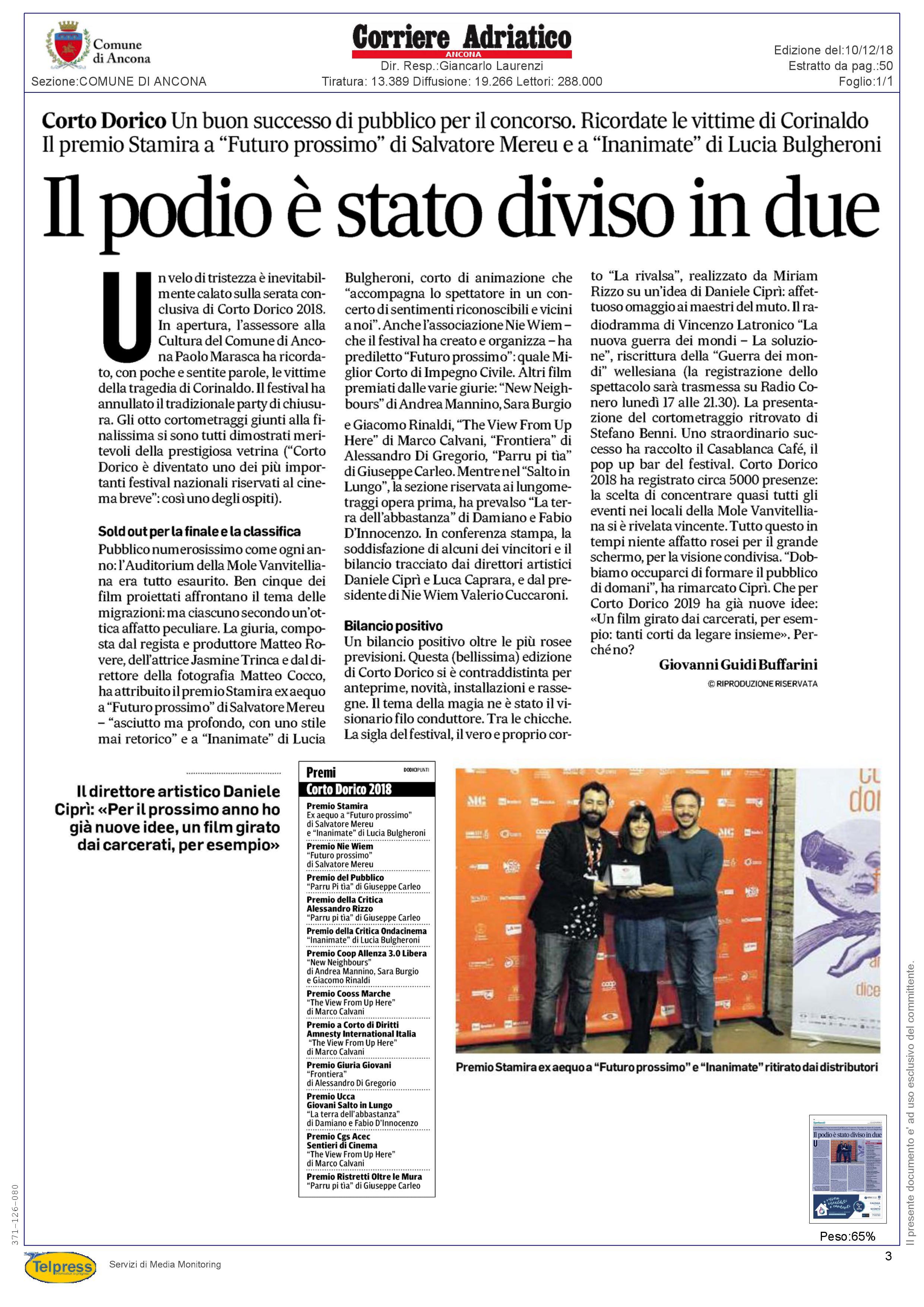 10-12-18 Corriere Adriatico