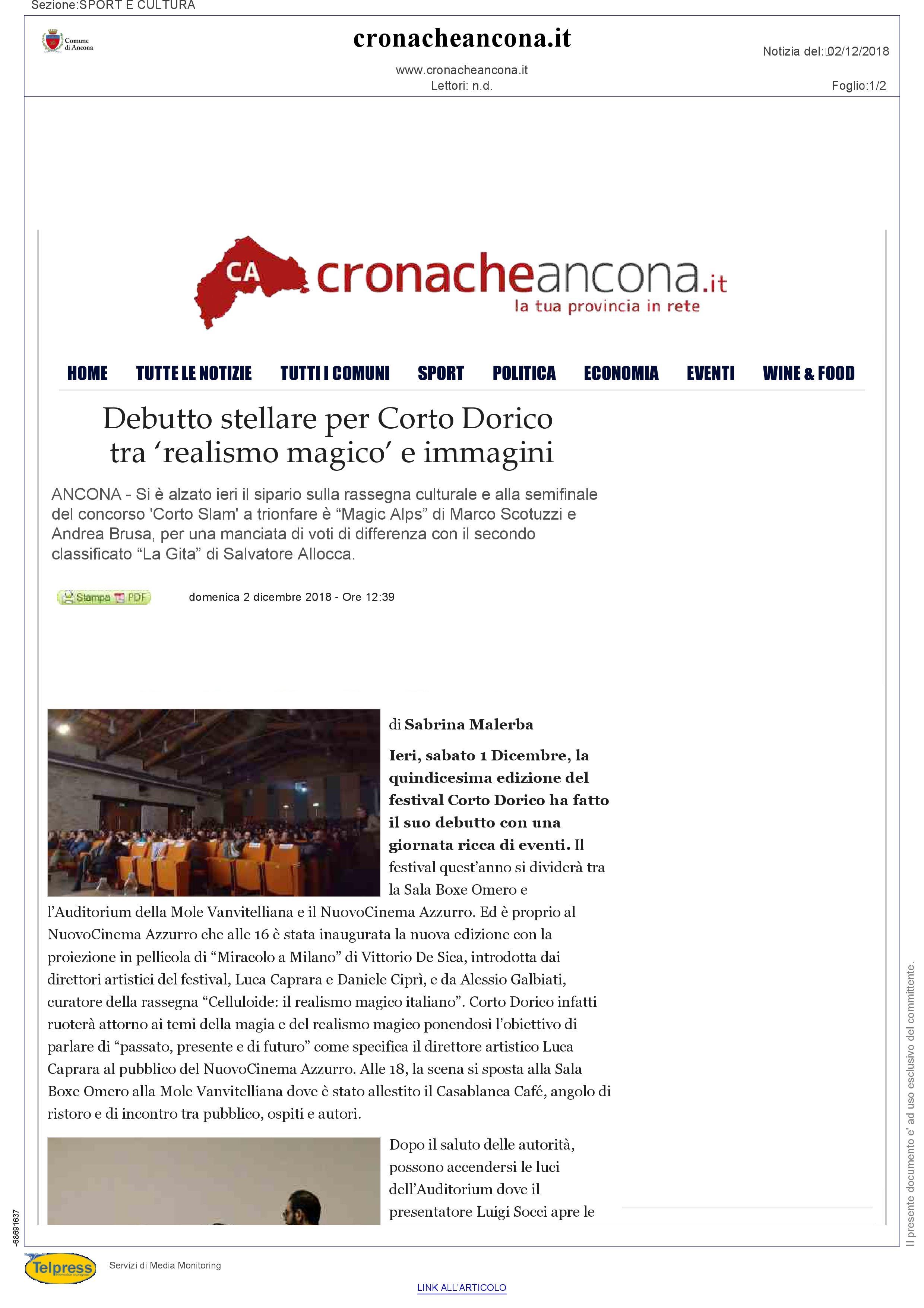 2-12-18 Cronache Ancona pag 1