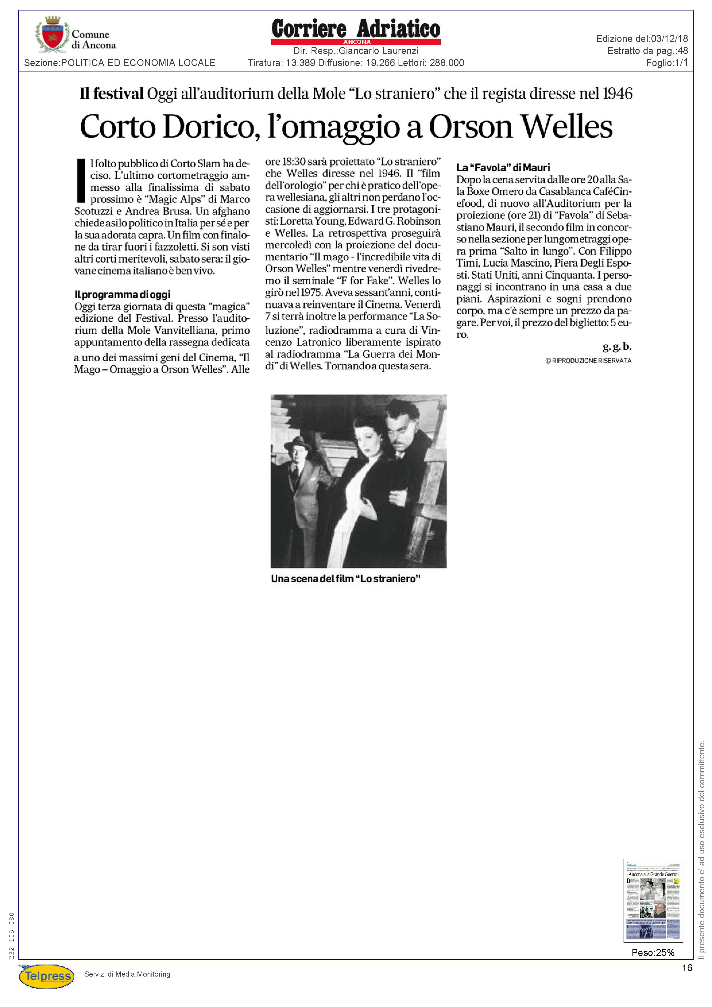 3-12-18 Corriere Adriatico